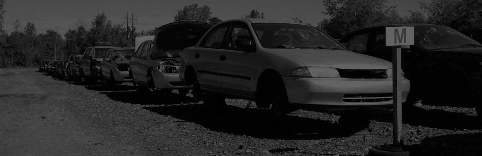 inventaire de véhicules pour pièces